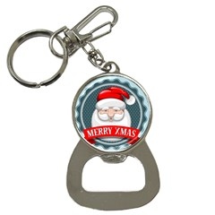 Christmas Santa Claus Xmas Button Necklaces