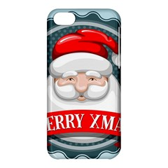 Christmas Santa Claus Xmas Apple Iphone 5c Hardshell Case by Alisyart