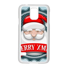 Christmas Santa Claus Xmas Samsung Galaxy S5 Case (white)