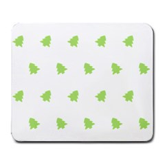 Christmas Tree Green Large Mousepads by Alisyart