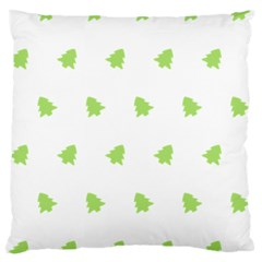 Christmas Tree Green Large Cushion Case (two Sides) by Alisyart
