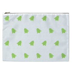 Christmas Tree Green Cosmetic Bag (xxl)