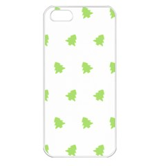 Christmas Tree Green Apple Iphone 5 Seamless Case (white)