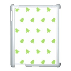 Christmas Tree Green Apple Ipad 3/4 Case (white)