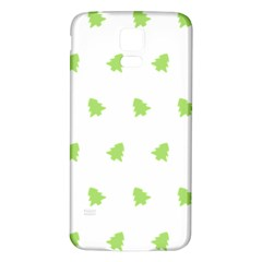 Christmas Tree Green Samsung Galaxy S5 Back Case (white) by Alisyart