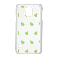 Christmas Tree Green Samsung Galaxy S5 Case (white)