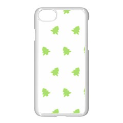 Christmas Tree Green Apple Iphone 8 Seamless Case (white) by Alisyart