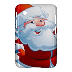 Christmas Santa Claus Snow Red White Samsung Galaxy Tab 2 (7 ) P3100 Hardshell Case  by Alisyart