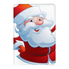 Christmas Santa Claus Snow Red White Samsung Galaxy Tab Pro 10 1 Hardshell Case by Alisyart