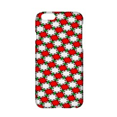 Christmas Star Red Green Apple Iphone 6/6s Hardshell Case by Alisyart