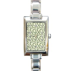 Christmas Pattern Gif Star Tree Happy Rectangle Italian Charm Watch