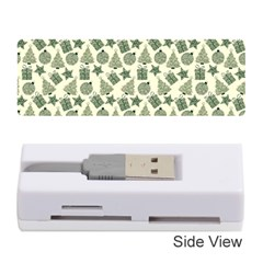 Christmas Pattern Gif Star Tree Happy Memory Card Reader (stick)