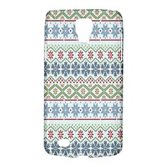 Christmas Star Flower Red Blue Galaxy S4 Active