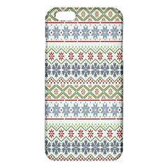 Christmas Star Flower Red Blue Iphone 6 Plus/6s Plus Tpu Case