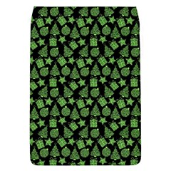 Christmas Pattern Gif Star Tree Happy Green Flap Covers (l)