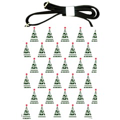 Christmas Tree Green Star Red Shoulder Sling Bags