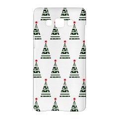 Christmas Tree Green Star Red Samsung Galaxy A5 Hardshell Case