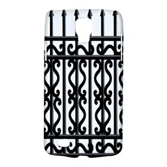 Inspirative Iron Gate Fence Grey Black Galaxy S4 Active