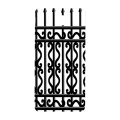 Inspirative Iron Gate Fence Grey Black Samsung Galaxy Alpha Hardshell Back Case by Alisyart