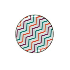 Line Color Rainbow Hat Clip Ball Marker (10 Pack) by Alisyart