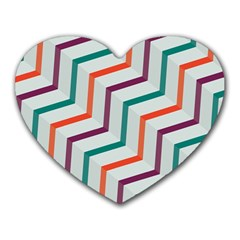 Line Color Rainbow Heart Mousepads by Alisyart