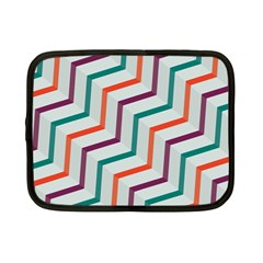Line Color Rainbow Netbook Case (small)