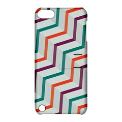 Line Color Rainbow Apple Ipod Touch 5 Hardshell Case With Stand