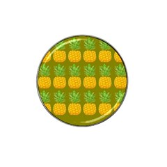 Fruite Pineapple Yellow Green Orange Hat Clip Ball Marker (4 Pack)