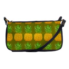 Fruite Pineapple Yellow Green Orange Shoulder Clutch Bags