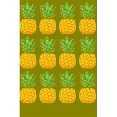 Fruite Pineapple Yellow Green Orange 5 5  X 8 5  Notebooks by Alisyart