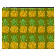 Fruite Pineapple Yellow Green Orange Cosmetic Bag (xxxl)