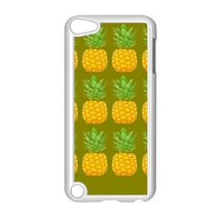 Fruite Pineapple Yellow Green Orange Apple Ipod Touch 5 Case (white) by Alisyart