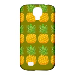 Fruite Pineapple Yellow Green Orange Samsung Galaxy S4 Classic Hardshell Case (pc+silicone) by Alisyart