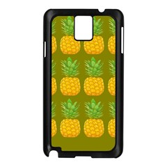 Fruite Pineapple Yellow Green Orange Samsung Galaxy Note 3 N9005 Case (black) by Alisyart