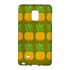Fruite Pineapple Yellow Green Orange Galaxy Note Edge by Alisyart