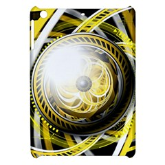 Incredible Eye Of A Yellow Construction Robot Apple Ipad Mini Hardshell Case by jayaprime