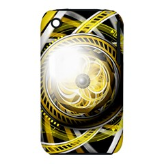 Incredible Eye Of A Yellow Construction Robot Iphone 3s/3gs by jayaprime