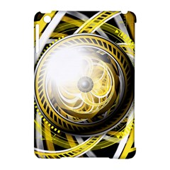 Incredible Eye Of A Yellow Construction Robot Apple Ipad Mini Hardshell Case (compatible With Smart Cover) by jayaprime