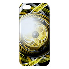Incredible Eye Of A Yellow Construction Robot Apple Iphone 5 Premium Hardshell Case by jayaprime