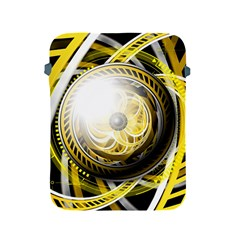 Incredible Eye Of A Yellow Construction Robot Apple Ipad 2/3/4 Protective Soft Cases by jayaprime