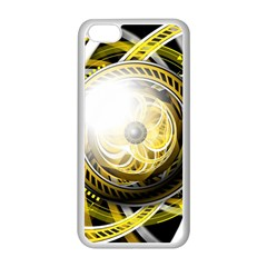 Incredible Eye Of A Yellow Construction Robot Apple Iphone 5c Seamless Case (white) by jayaprime