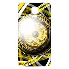 Incredible Eye Of A Yellow Construction Robot Galaxy Note 4 Back Case by jayaprime