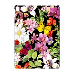 Beautiful,floral,hand painted, flowers,black,background,modern,trendy,girly,retro Apple iPad Pro 10.5   Hardshell Case