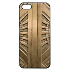 Art Deco Gold Door Apple Iphone 5 Seamless Case (black) by 8fugoso