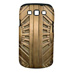 Art Deco Gold Door Samsung Galaxy S Iii Classic Hardshell Case (pc+silicone) by 8fugoso