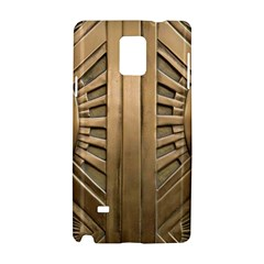Art Deco Gold Door Samsung Galaxy Note 4 Hardshell Case by 8fugoso