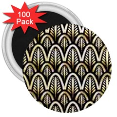 Art Deco 3  Magnets (100 Pack) by 8fugoso