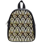 art deco School Bag (Small) Front