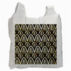 Art Deco Recycle Bag (two Side)  by 8fugoso