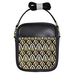 Art Deco Girls Sling Bags by 8fugoso